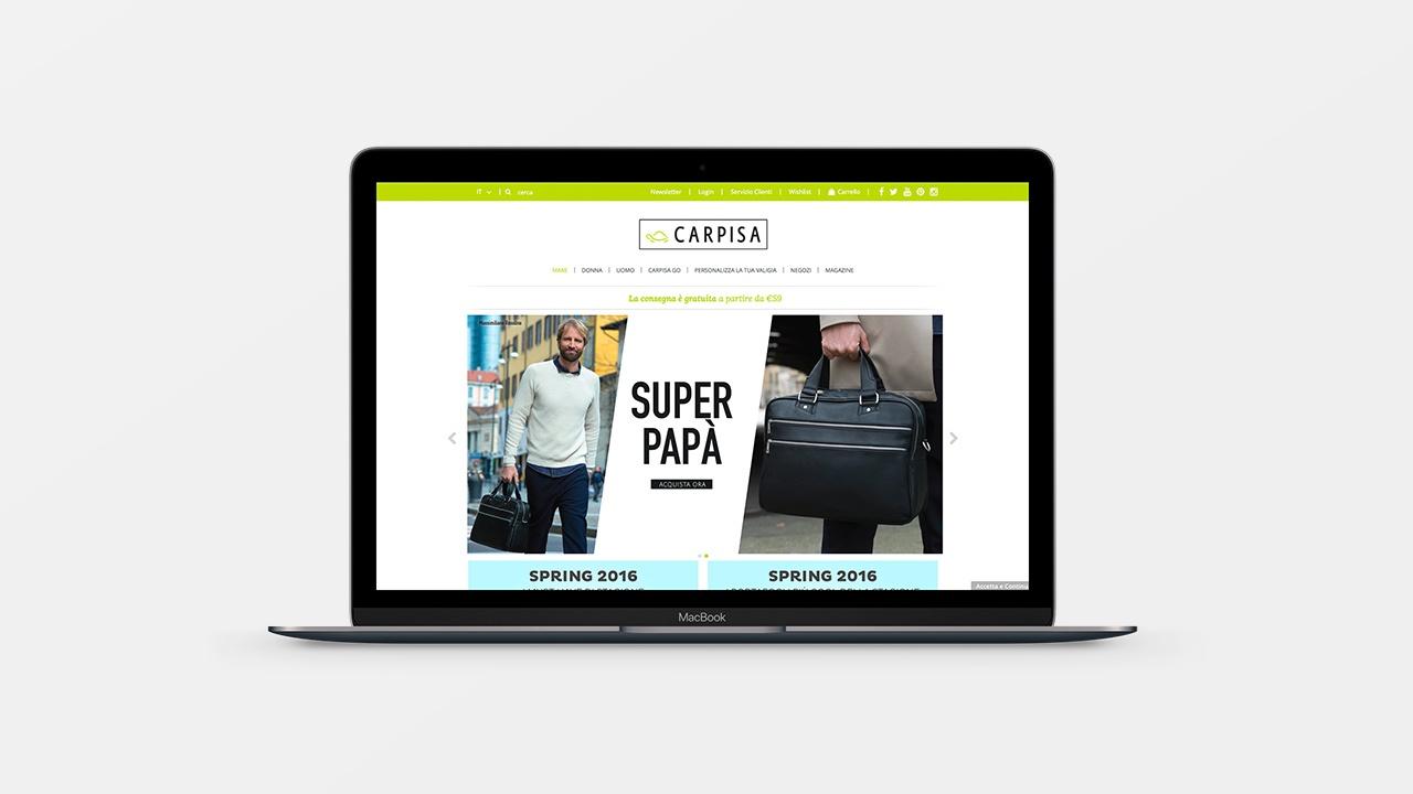 Carpisa - MOO Comunicazione - Siti Web e Newsletter
