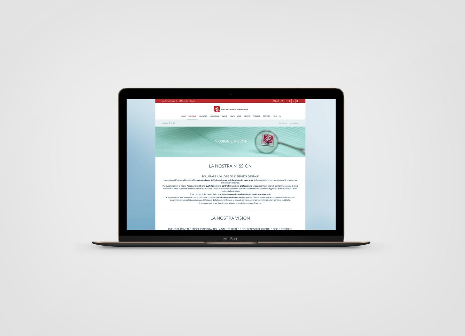 Aidi - MOO Comunicazione - Siti Web e Newsletter